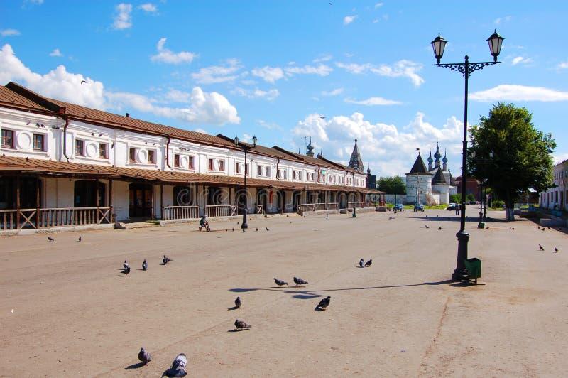 Città antica di Jur'ev-Pol'skij La Russia fotografia stock libera da diritti