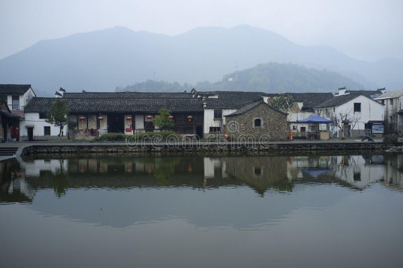 Città antica di Longmen fotografie stock