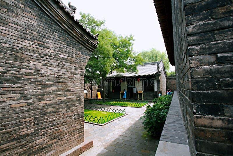 Città antica di Pingyao immagine stock