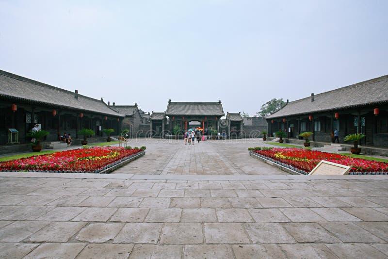 Città antica di Pingyao fotografia stock libera da diritti
