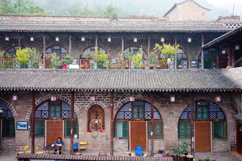 Città antica di Qikou immagine stock libera da diritti