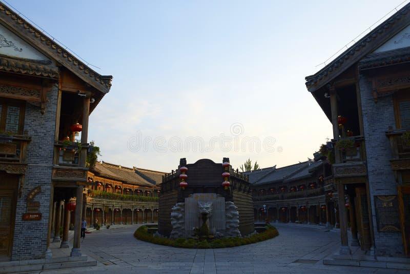 Città antica di Taierzhuang, Cina immagine stock
