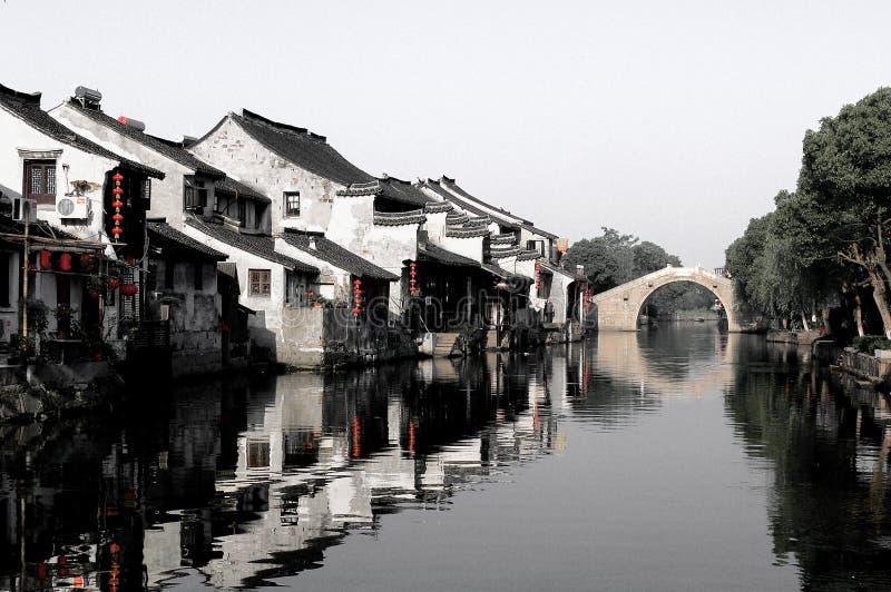 Città antichissima Cina di XiTang fotografia stock libera da diritti