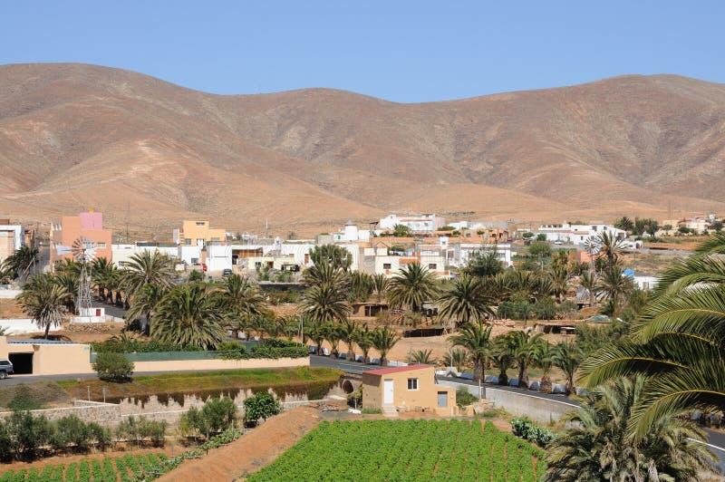 Città Antigua, Fuerteventura, Spagna immagine stock libera da diritti