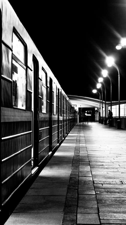 Città in bianco e nero fotografia stock libera da diritti