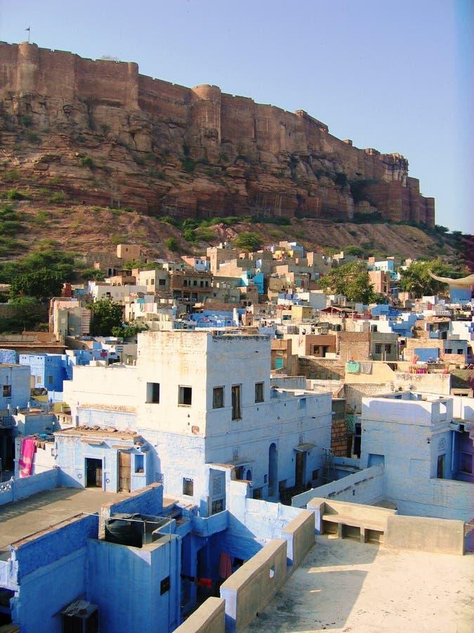 Città blu di Jodhpur fotografia stock libera da diritti
