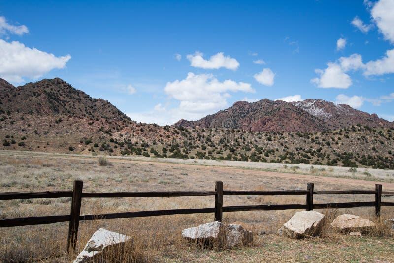 Città Colorado di Canon del canyon del tempio del parco di ecologia fotografia stock libera da diritti
