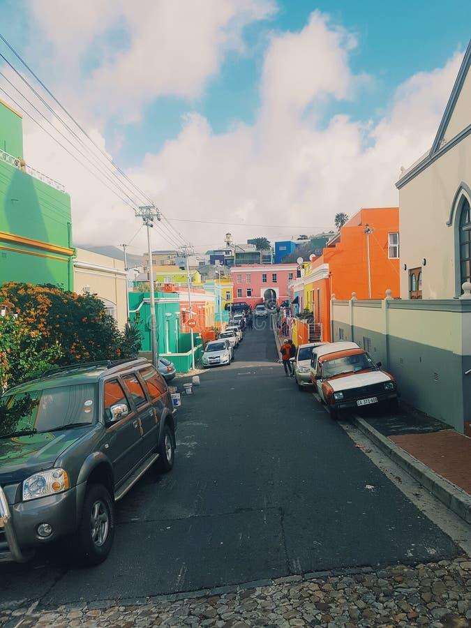 Città Colourful fotografia stock libera da diritti
