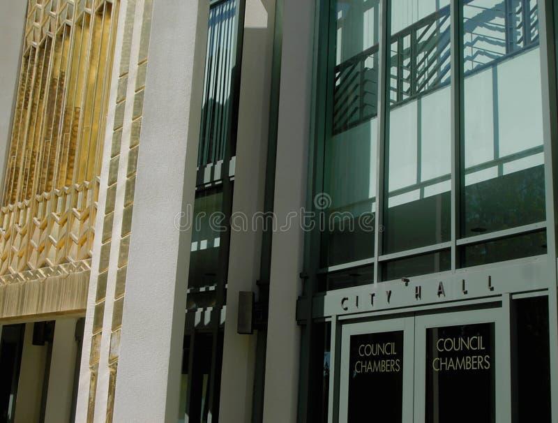 Città Corridoio Fotografia Stock
