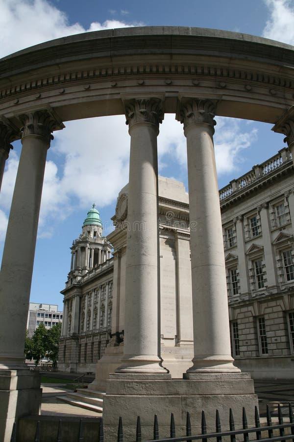 Città corridoio di Belfast fotografia stock libera da diritti