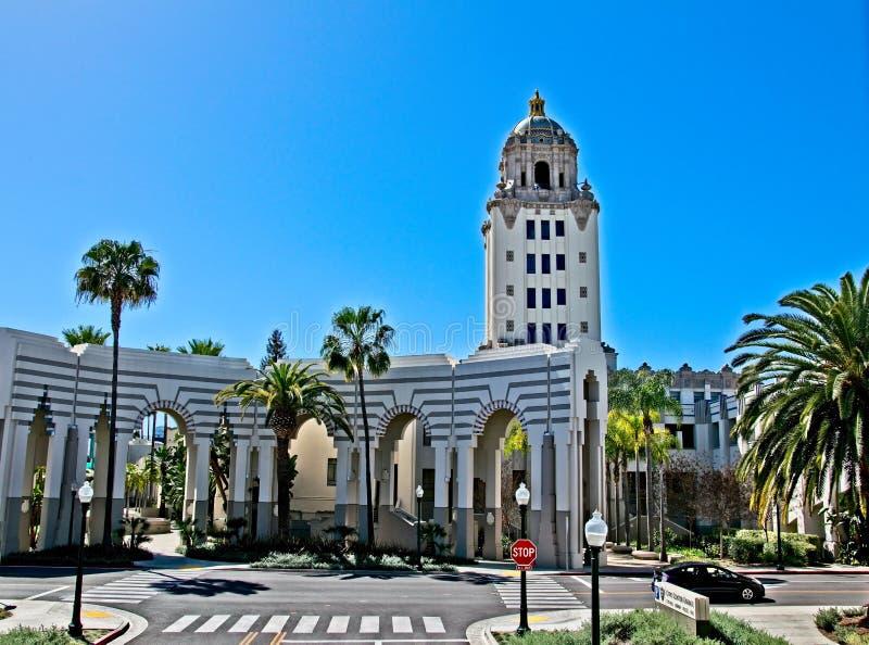 Città corridoio di Beverly Hills immagini stock libere da diritti