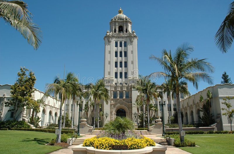 Città corridoio di Beverly Hills fotografie stock
