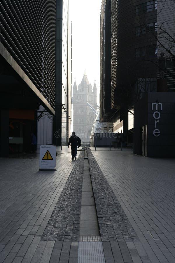 Città corridoio di Londra immagine stock