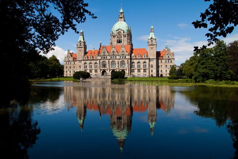 Città corridoio Hannover fotografie stock