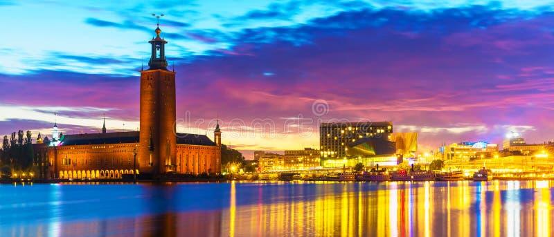 Città corridoio a Stoccolma, Svezia fotografia stock libera da diritti