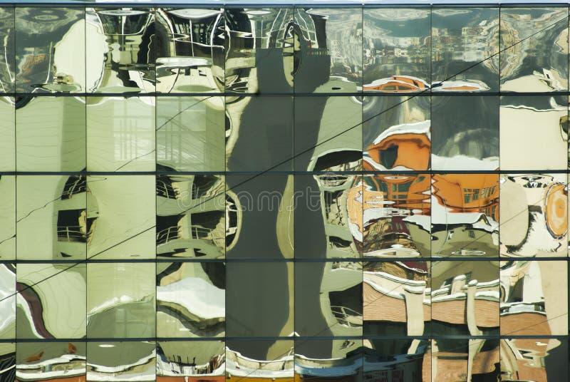 Città curvata fotografie stock libere da diritti