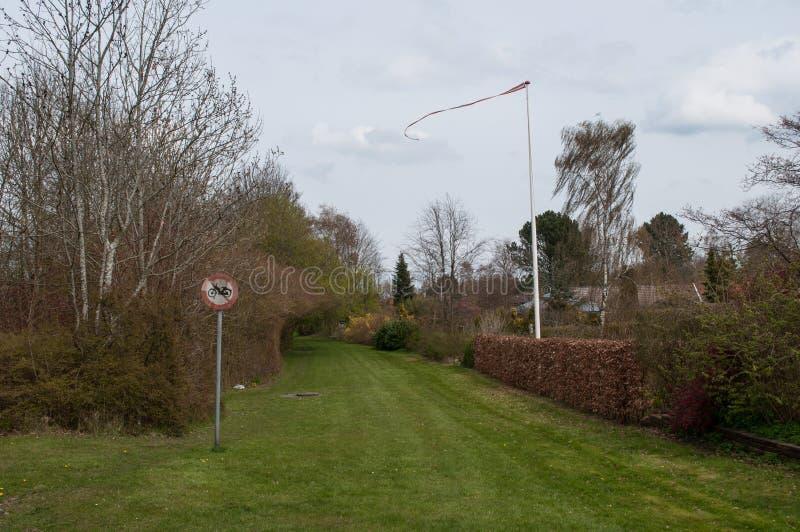 Città danese di Mogenstrup immagine stock