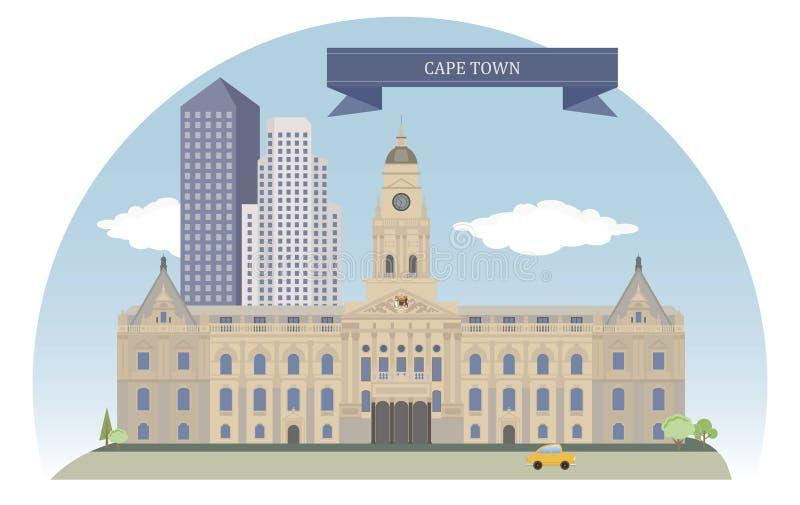 Città del Capo royalty illustrazione gratis