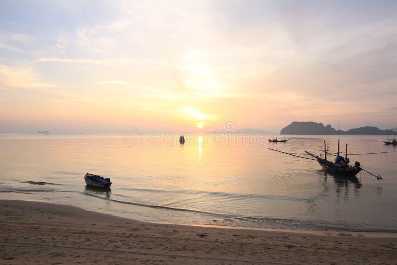 Città del chumporn di hatsairee della spiaggia in thailand3 fotografie stock