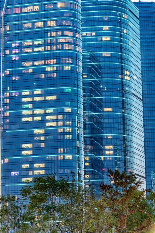 Città del complesso industriale di Suzhou fotografia stock libera da diritti