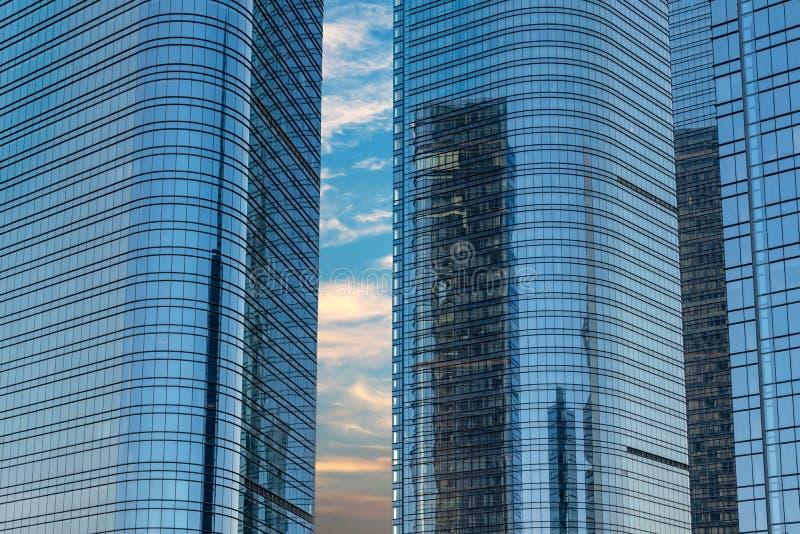 Città del complesso industriale di Suzhou fotografie stock libere da diritti