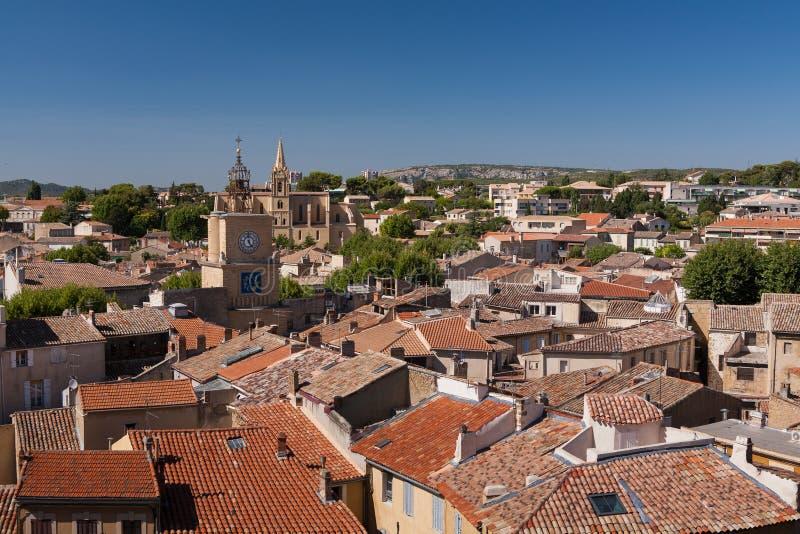 Città del salone de Provenza, Francia immagine stock libera da diritti
