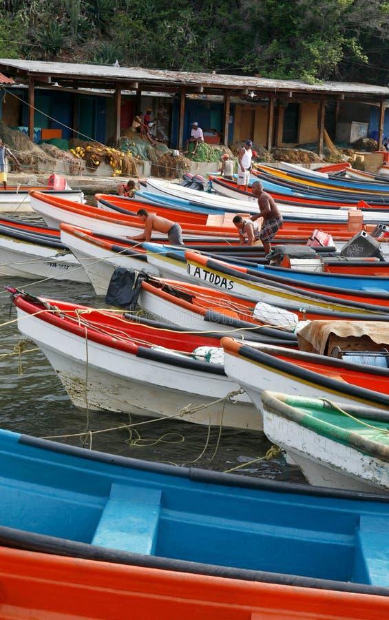 CITTÀ DEL SUDAMERICA VENEZUELA CHORONI fotografia stock