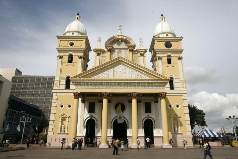 CITTÀ DEL SUDAMERICA VENEZUELA MARACAIBO fotografie stock libere da diritti
