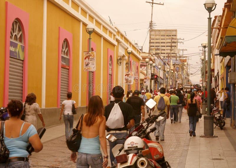 CITTÀ DEL SUDAMERICA VENEZUELA VALENCIA fotografie stock libere da diritti