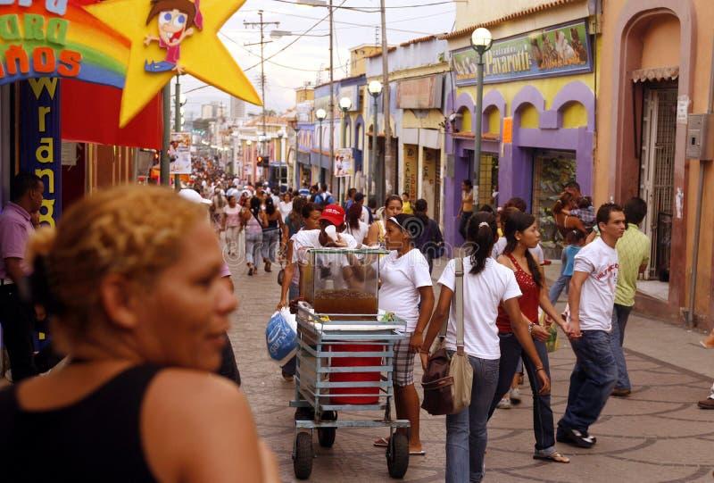 CITTÀ DEL SUDAMERICA VENEZUELA VALENCIA immagine stock libera da diritti