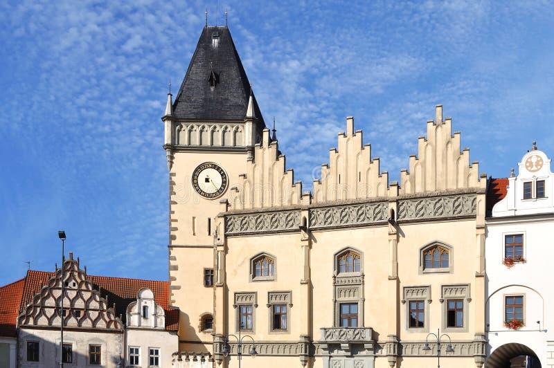 Città del Tabor, Repubblica ceca fotografia stock