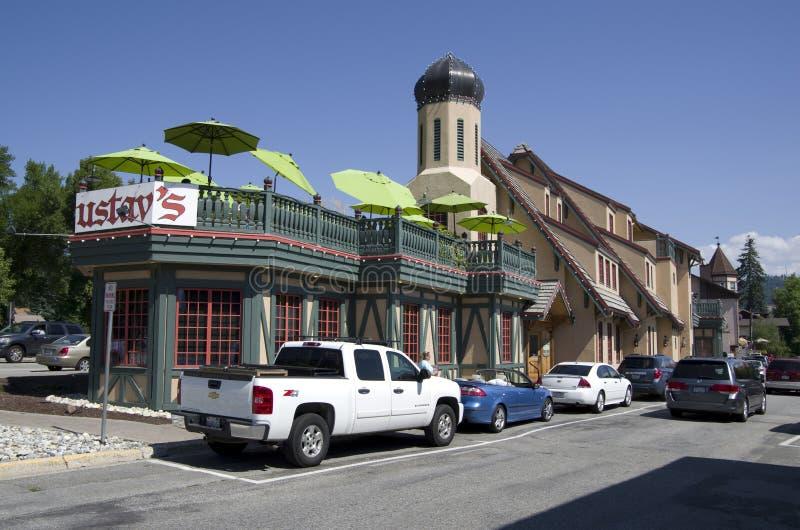 Città del tedesco di Leavenworth fotografie stock