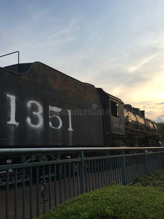 Città del treno immagine stock