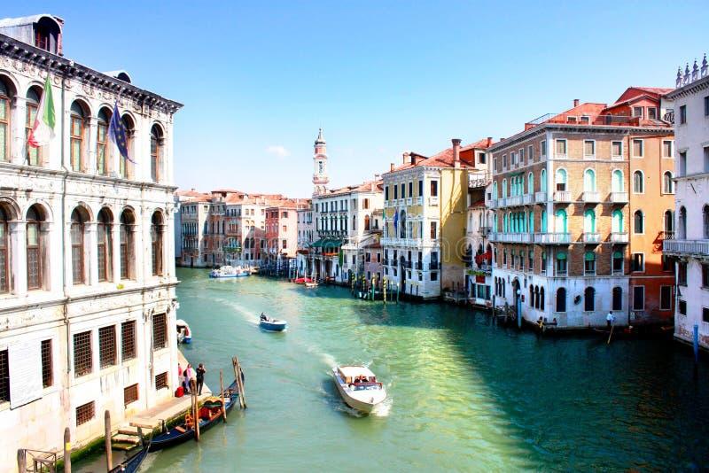 Città dell'acqua fotografie stock libere da diritti