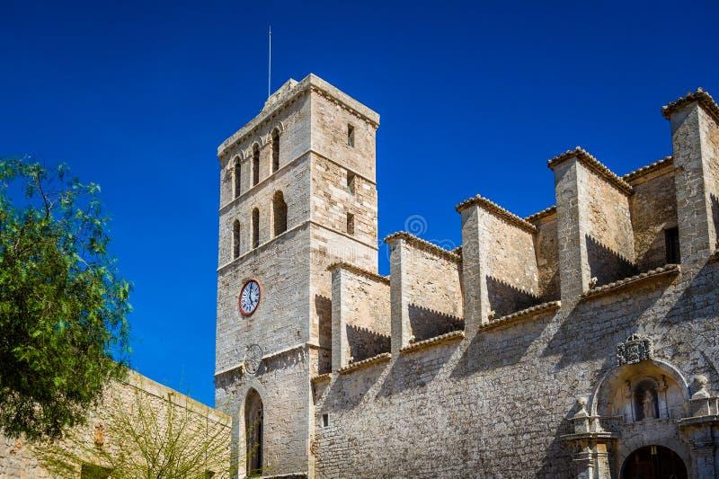 Città dell'orologio della fortezza immagine stock libera da diritti
