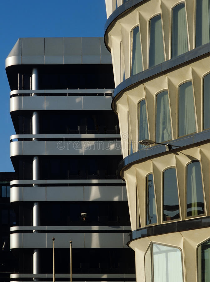 Città della Banca di Londra fotografie stock
