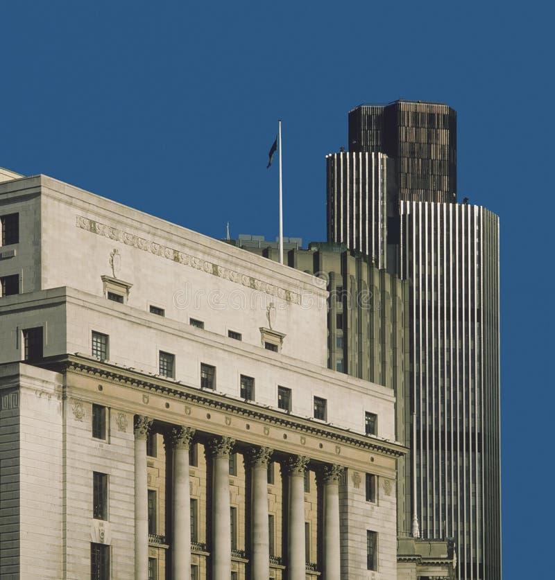 Città della Banca di Londra immagine stock