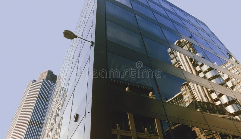 Città della Banca di Londra immagine stock libera da diritti