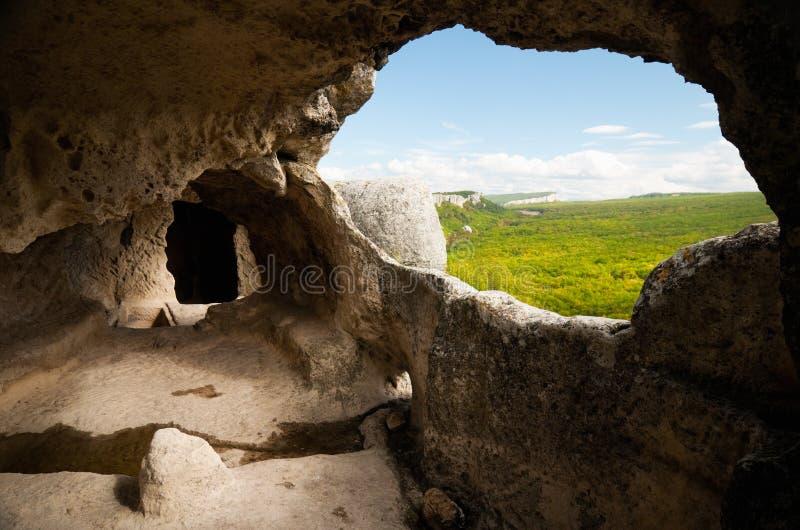 Città della caverna fotografie stock