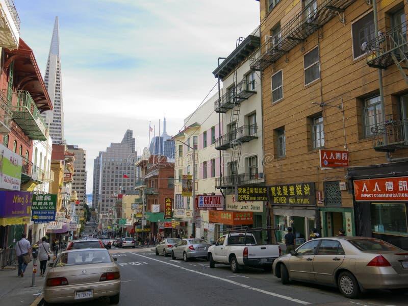 Città della Cina a San Francisco fotografia stock