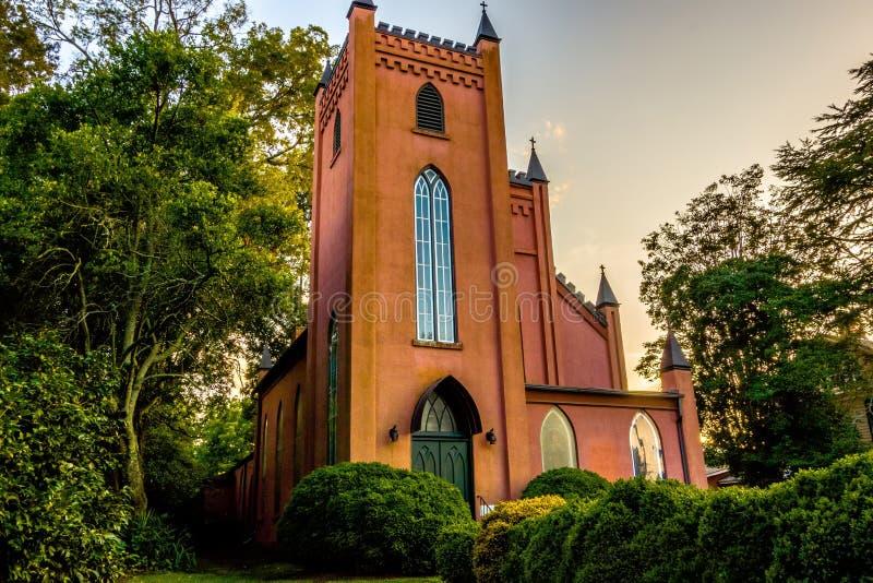 Città della rosa di bianco di York Carolina del Sud fotografia stock libera da diritti
