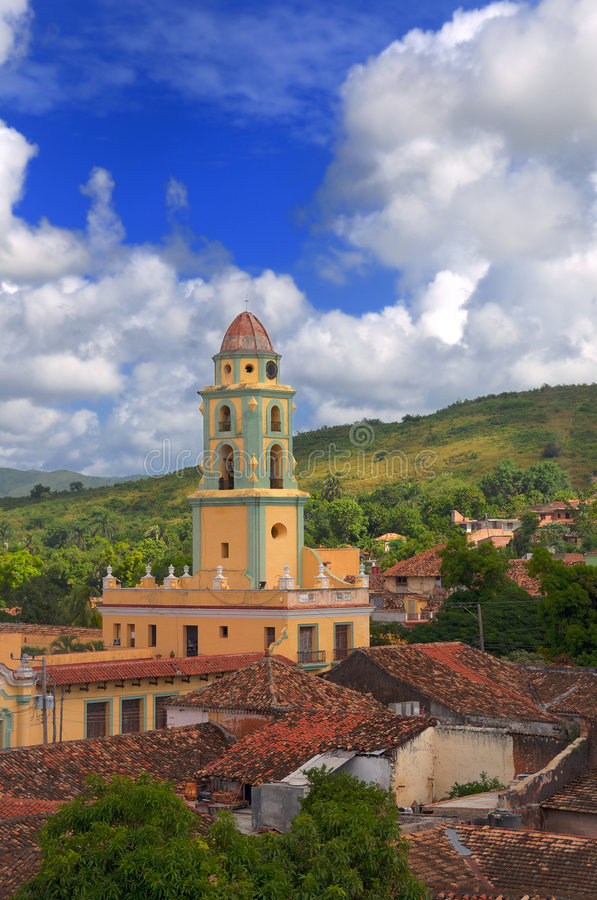 Città della Trinidad, Cuba fotografia stock libera da diritti