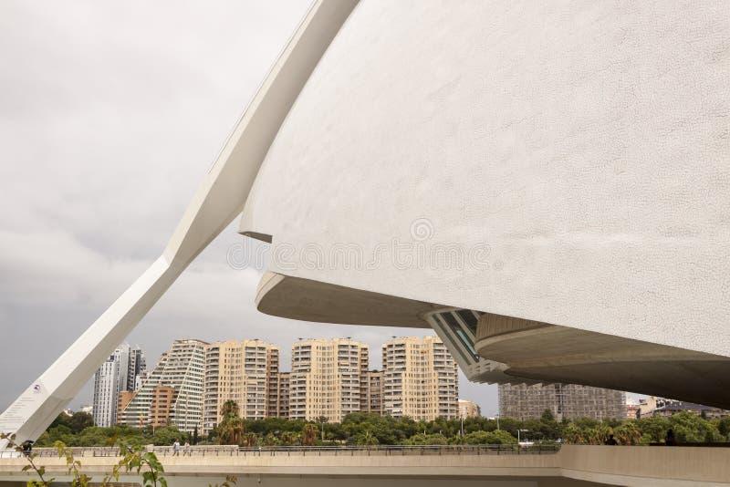 Città delle arti e delle scienze valencia La Spagna, Europa fotografie stock libere da diritti