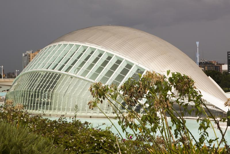 Città delle arti e delle scienze valencia La Spagna, Europa fotografia stock libera da diritti