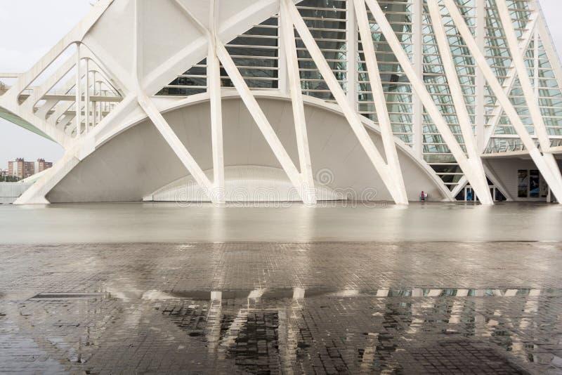 Città delle arti e delle scienze valencia La Spagna, Europa immagine stock