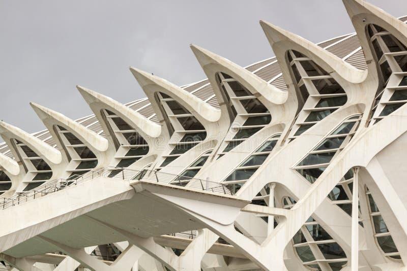 Città delle arti e delle scienze valencia La Spagna, Europa immagine stock libera da diritti