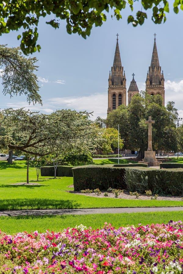 Città delle chiese fotografia stock