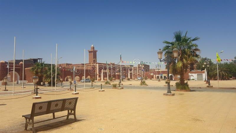Città di Adrar fotografia stock libera da diritti