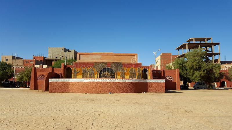 Città di Adrar immagini stock