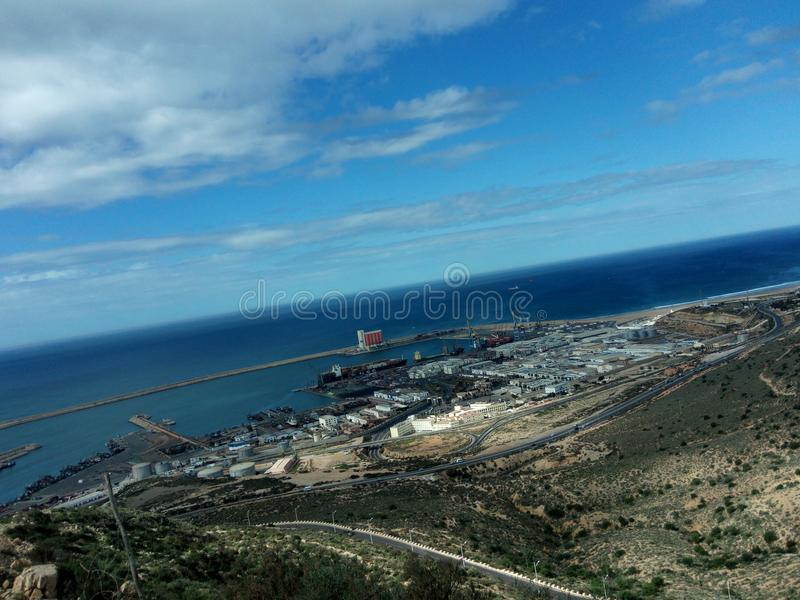 Città di Agadir fotografia stock